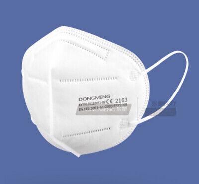 20 x FFP2 NR Schutzmasken PTFE Nano Filter mit Regulierbares Halteband