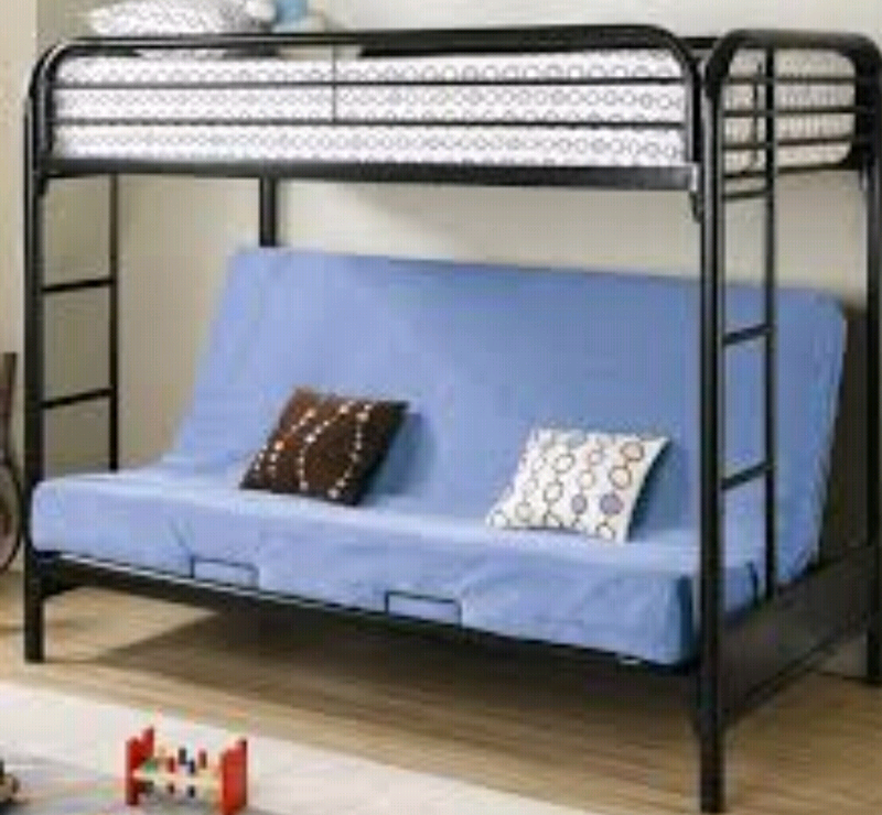 size 40 4b69a 79588 Triple futon bunk bed | in Rochester, Kent | Gumtree