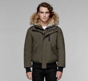 Men's Mackage Dixon Hip Length Winter Down Parka with Fur