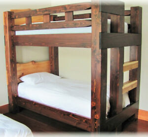bunk beds by deep forest
