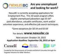 Employment Program for Age 50+