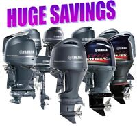 Yamaha Outboard Motor Sale 2-300 hp Nobody Beats Our Deal