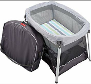 Fisherprice Ultralight -bassinet and playard in one!
