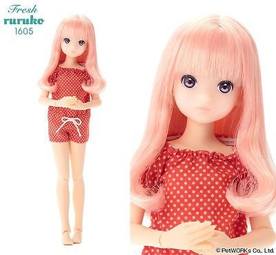 PetWORKs ruruko Fresh 1605 Doll 22cm tall NEW NRFB blonde & strawberry hair