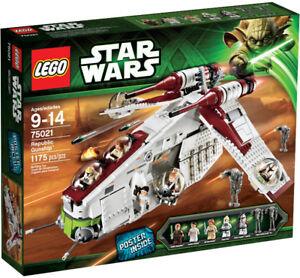 Lego 75021 Star Wars Republic Gunship  (NEUF SCELLÉ)