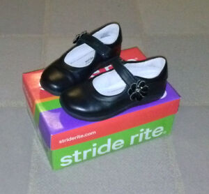 Girl size 11.5, Stride Rite 100% leather shoes.