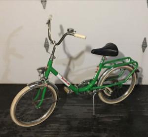 **1960's Vintage Amica Folding Bike**