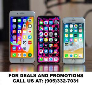 Apple iPhone X, iPhone 8, iPhone 7, iPhone 6S & iPhone 6 Sale!