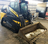 New Holland C232 Compact Track Loader w/ 2600 Hours