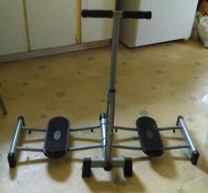 "Used.  "" Leg Magic exercise equipment"""