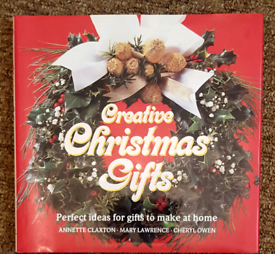 Christmas crafts book ... gifts /decorations / cards - hardback