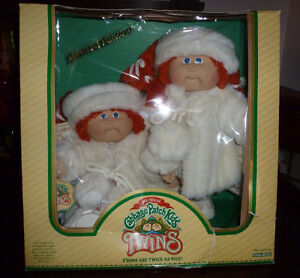 Vintage Redhead Cabbage Patch Twins (from 1985)