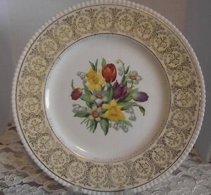 VINTAGE PLATE SOHO POTTERY SOLIAN WARE