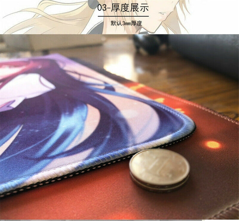 Re:Dive Pecorine Mouse Pad Keyboard Mat Game Playmat New Anime Princess Connect