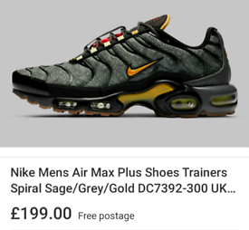 Brand new Nike air max plus uk size 10