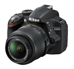 Nikon D3200 24.2 MP Digital SLR  Camera kit - PRICE DROP