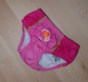 Reusable swim diaper, size 12m plus, excellent clean condition