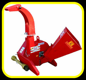 """NEW 4"""" x 10"""" capacity PTO WOOD CHIPPER, for 16-60hp"""