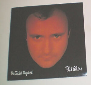 Phil Collins No Jacket Required LP Record London Ontario image 1