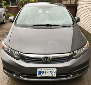 2012 Honda Civic EX Sedan, wint tires heated seats, remote start