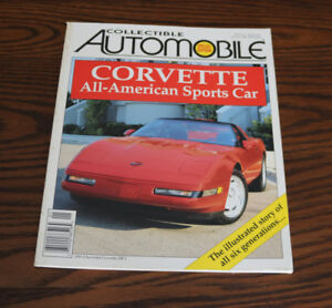 Collectible Automobile magazines - full set of 7 from 1996