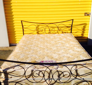 Queen Mattress,Box Spring,Head Board&Frame delivery available