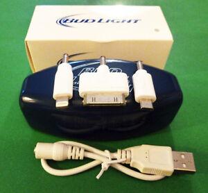 10 x Bud Light Living USB Power Banks - New in Box