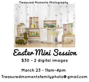 Mini photography session only $30