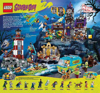 5 BRAND NEW LEGO SCOOBY DOO SETS