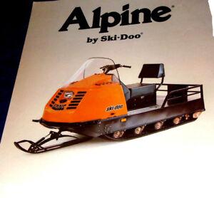 Ski Doo Alpine Parts