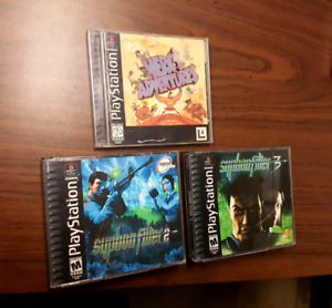 Ps1 games Herc's Adventures & Syphon Filter 2,3