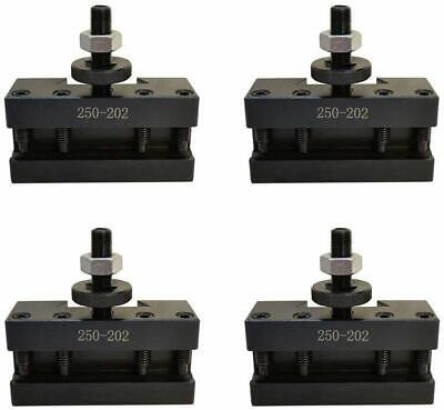T1013 Set 4 Bxa 2 Quick Change Turning Facing Boring Tool Post Holder 250-202