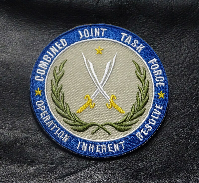 COMBINED JOINT TASK FORCE OPERATION INHERENT RESOLVE HOOK PATCH