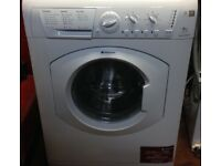21 Hotpoint WML520 6kg 1200Spin White A+Rated Washing Machine 1YEAR WARRANTY FREE DEL N FIT