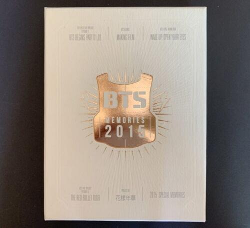 BTS-Memories Of 2015 BOOK+4 DVD SET FULL SET