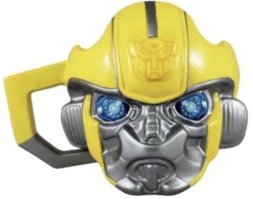 NEW  TRANSFORMERS Large BUMBLEBEE Sculpted Ceramic Mug Cup HASBRO NEW n BOX 2018