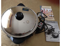 Saladmaster 12' Electric Skillet with Lifetime Warranty (Great Condition)