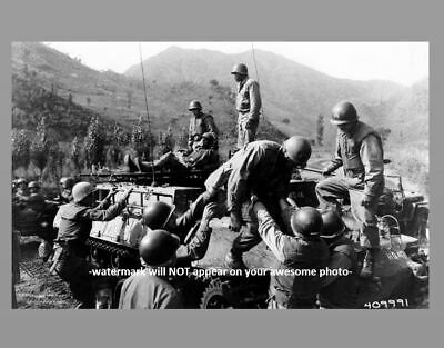Korean War US Army Wounded PHOTO Fight For Triangle Hill 598 7th US Infantry Div