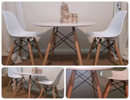 New: eames replica childrens table and chairs North Ipswich Ipswich City Preview