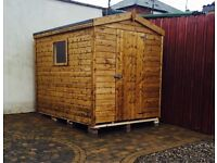 6ft x 4ft T&G Garden Shed