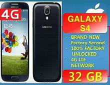 NEW GALAXY S4 4G LTE 32GB UNLOCKED Strathfield Strathfield Area Preview