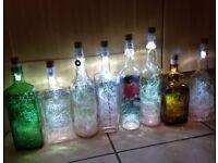 Cork light designer bottles,no wires or batteries,USB charged.