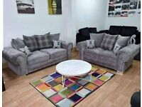 🔴🔵 BRAND NEW CASH ON DELIVERY 🦋🦋 VERONA SOFA 3+2 ONLY 575GBP 🔥🔥