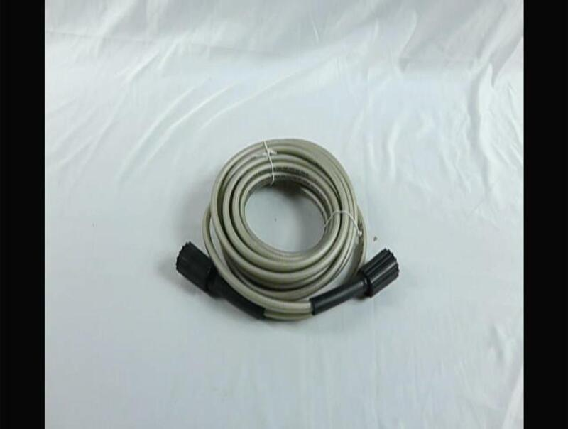 Greenworks 25-Foot Universal Pressure Washer High Pressure Hose Attachment 52004