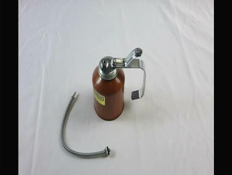 GOLDENROD (707) Industrial Pump Oiler with Flex Spout - 12 oz. Capacity