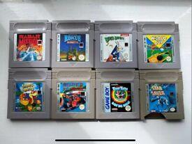 Gameboy Games x8