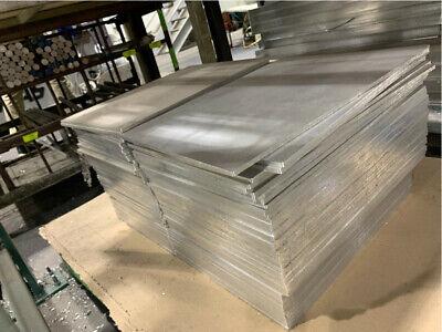 6061 Aluminum Plate 14 X 18 X 13 Solid Stock 6lbs Each Machining