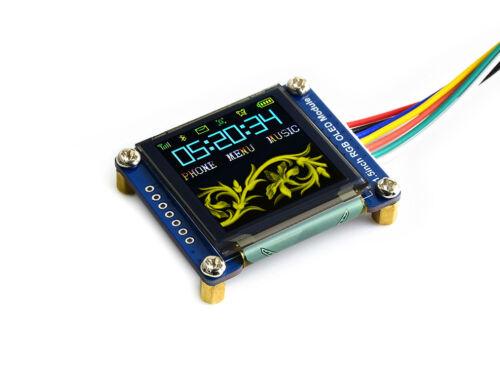 1.5inch RGB OLED display 128x128 pixels 16-bit (65K) display color SPI interface