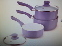 set of 3 saucepan set