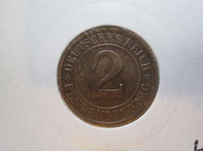 Deutsches Reich 2 Rentenpfennig 1924 (386)
